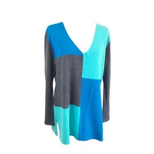 3/$20 Paradox Women's Color Block Sweater